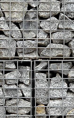 Pierres gabions et murs de soutènement pas chers à Liège chez Vendrame-Construction
